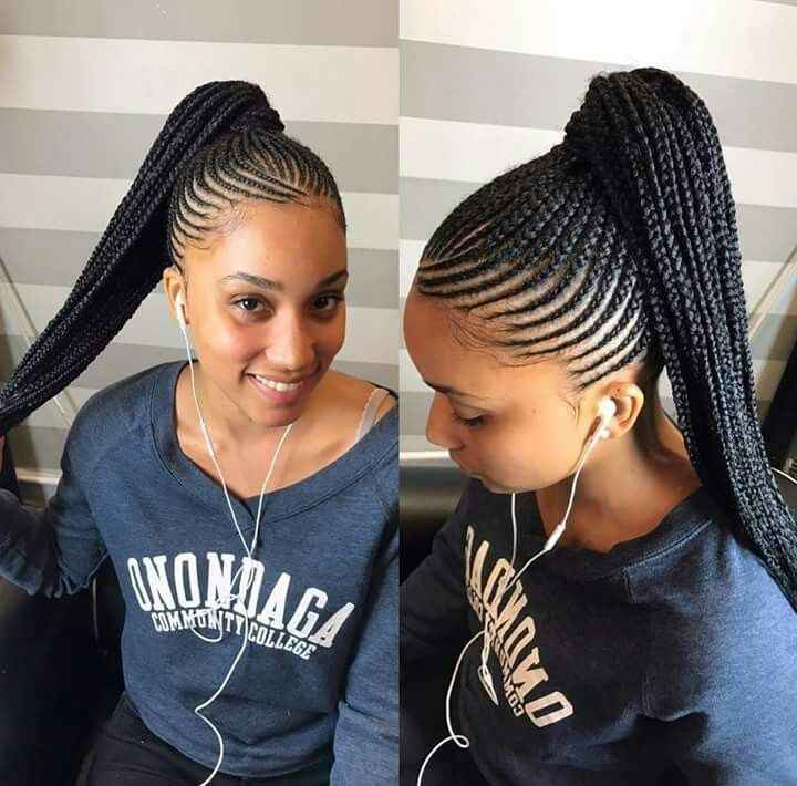 24 Best Braids Images On Pinterest Natural Hair African Straight Up